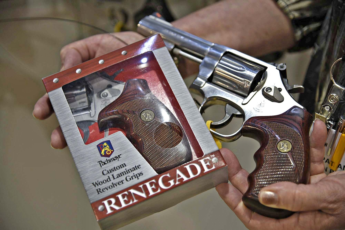 Style and functionality mix perfectly in Pachmayr's new Renegade and G10 Tactical grips for revolvers and semi-automatic pistols!