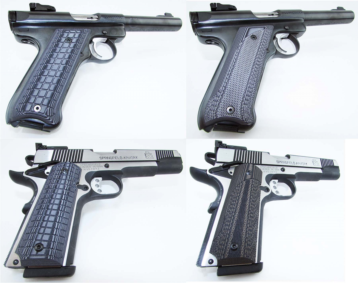 G10 Tactical And Renegade Grips By Pachmayr Gunsweek Com