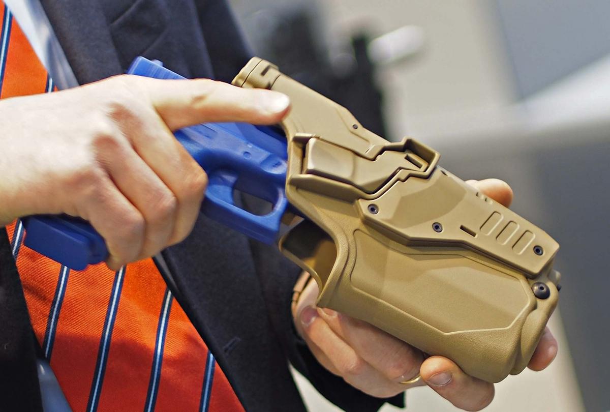 Fondina tattica da pistola Radar CRAB-PRO