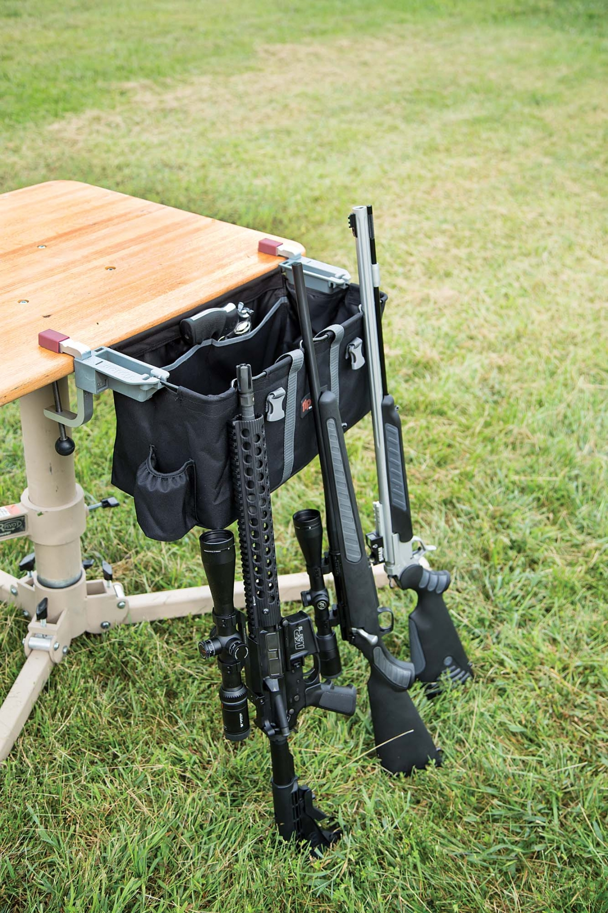 The Tipton Transporter Range Vise, from Battenfeld Technologies, is the perfect addition to your next trip to the range