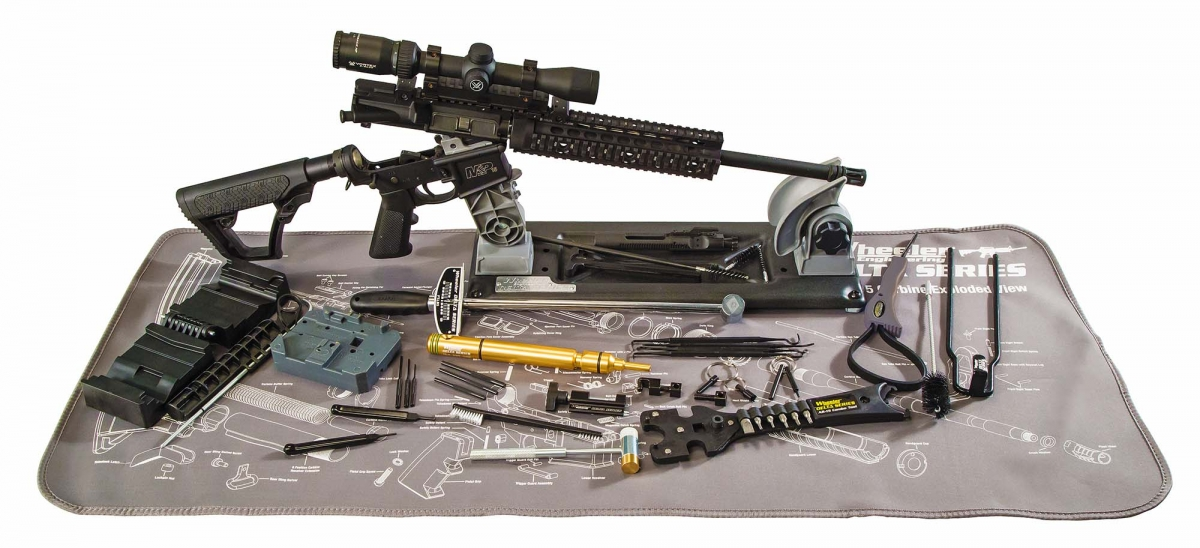 "Wheeler ""AR-15 Ultra Armorers Kit"": il set completo"