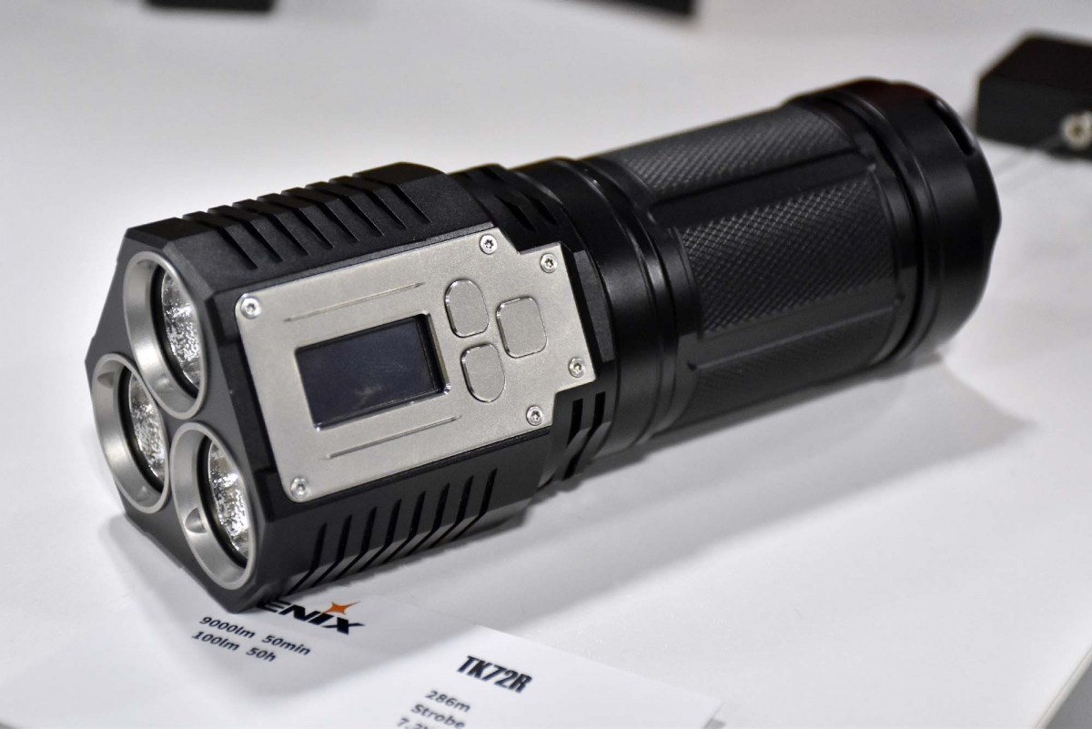 Fenix TK72R Flashlight