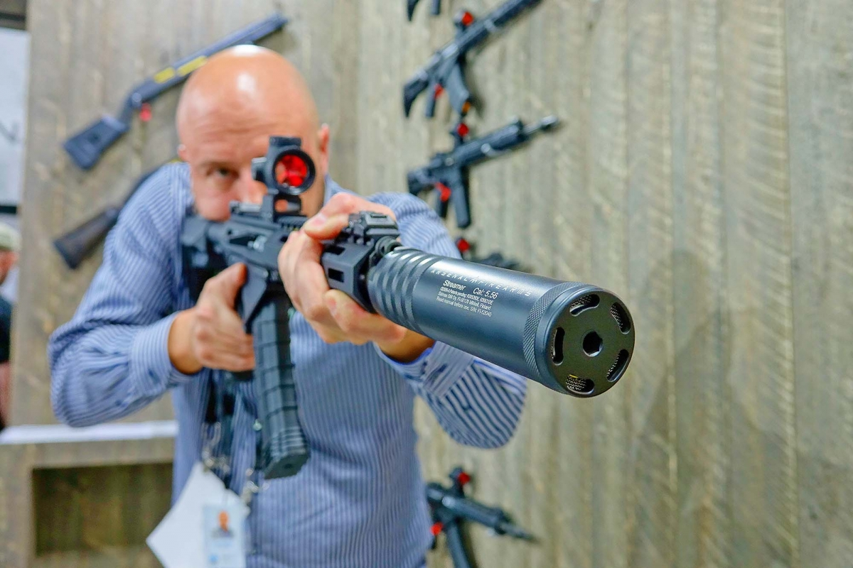 Arsenal Firearms USA will distribute a line of sound suppressors by Saimaa Still