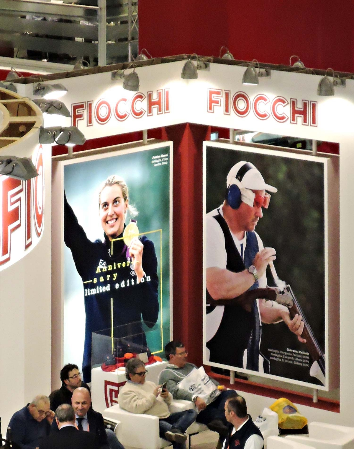 Fiocchi Munizioni booth at Fiera Vicenza HIT Show 2016