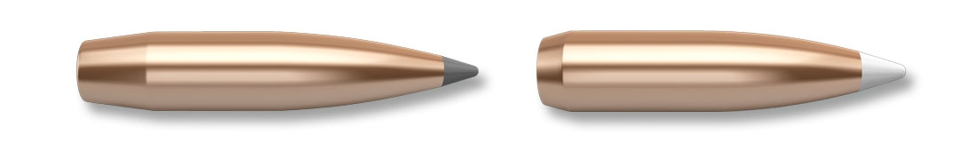 The 180 gr and 210 gr Accubond bullets used in the Trophy Grade Nosler cartridges, but also available for reloading purposes