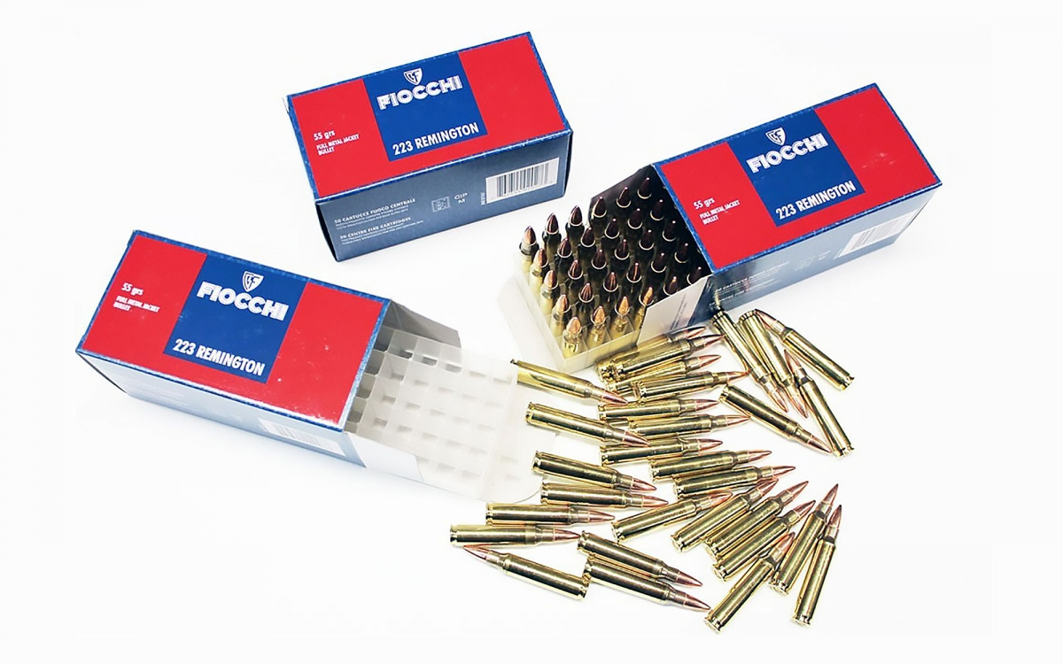 Fiocchi Munizioni calibro .223 Remington: richiamo d'urgenza per un lotto!