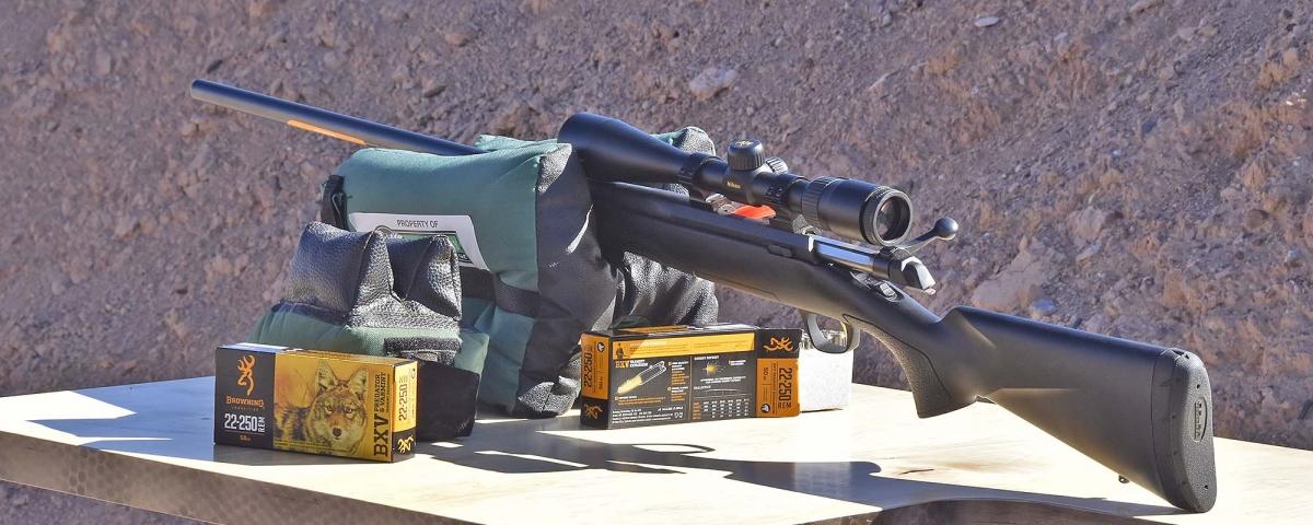 Le nuove munizioni da caccia Browning erano disponibili sul campo di tiro dell'Industry Day at the Range, il giorno prima l'inizio dello SHOT Show