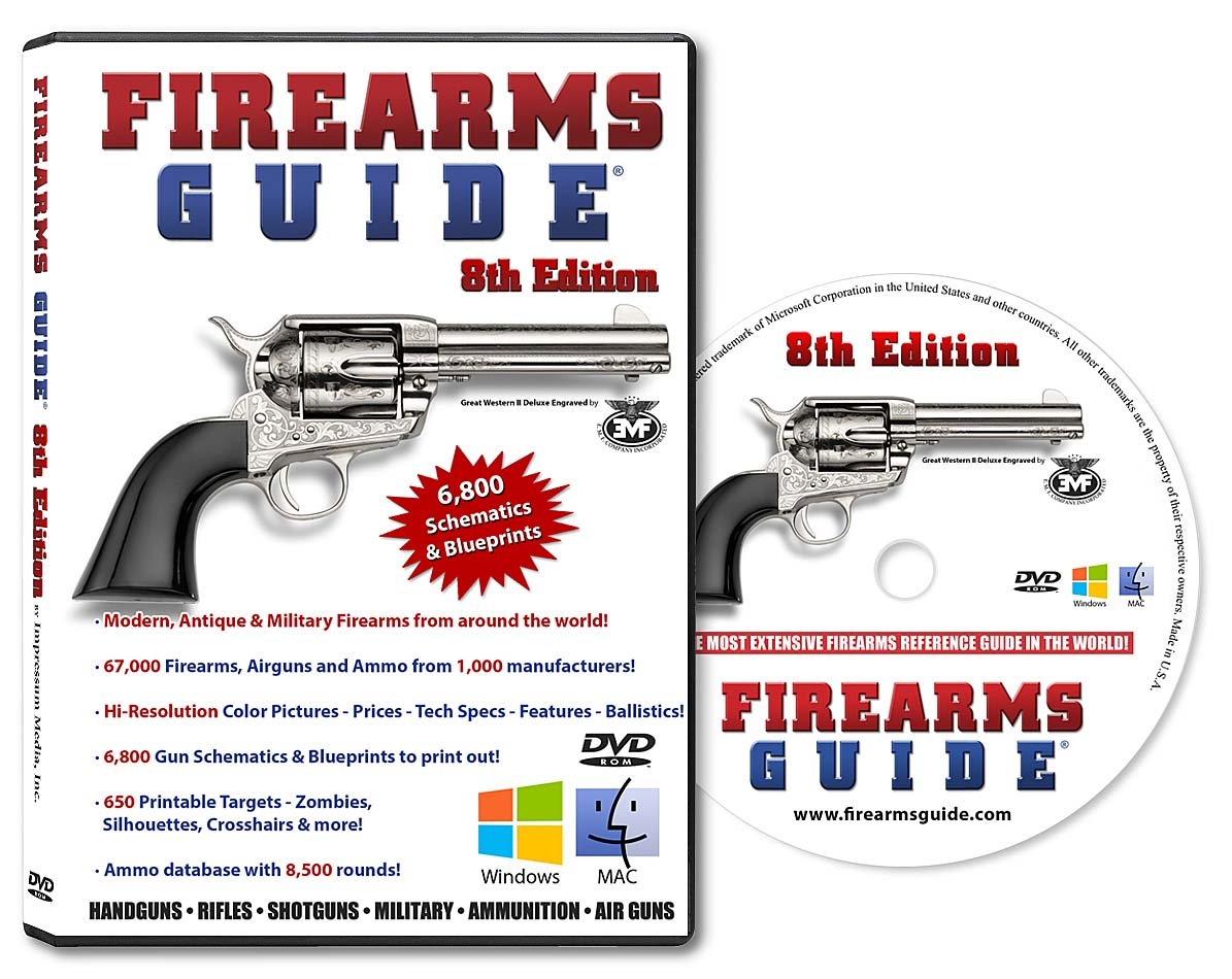 Hunting gun guide and schematics liry for Mac & PC ... on revolver schematics diagrams, shotgun schematics or diagrams, handgun schematics and how it works,