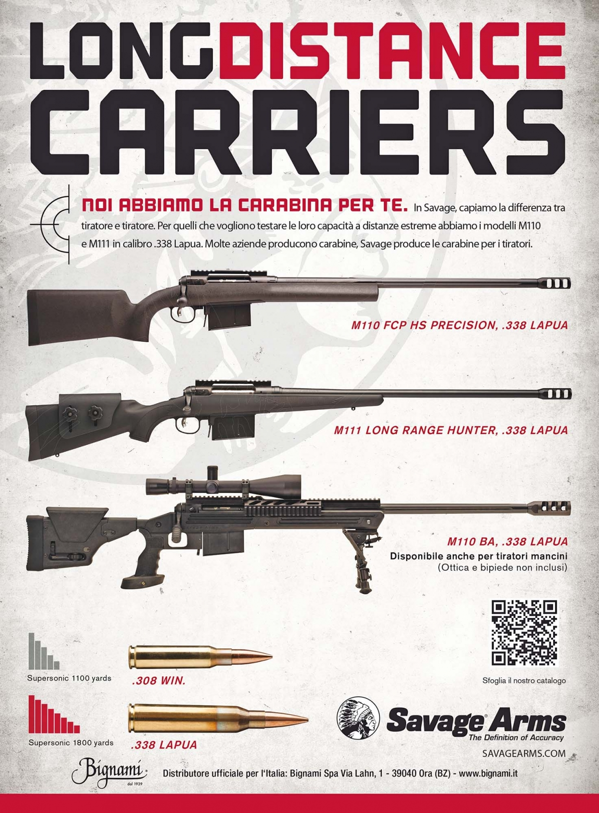Bignami - carabine Savage Arms