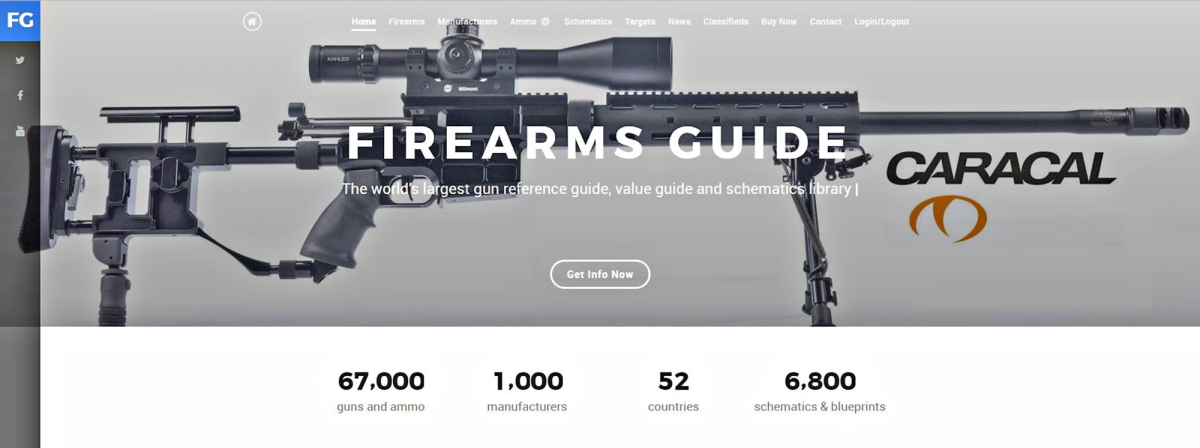 Firearms Guide 8th Edition just published!