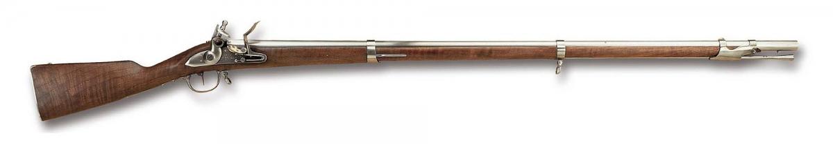 La replica Pedersoli del fucile ad avancarica ANNO IX, in dotazione alla fanteria francese durante le Guerre Napoleoniche