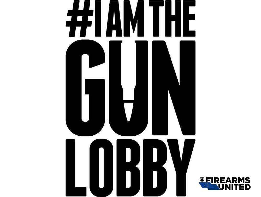 "We all are the ""Gun Lobby""! They can depict us as monsters, but this won't stop us!"