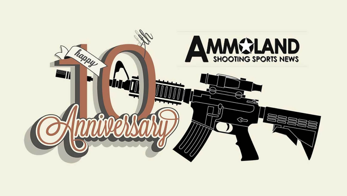 This month marks the tenth anniversary for AmmoLand.com, one of the world's best known and most prolific websites in terms of sport shooting news