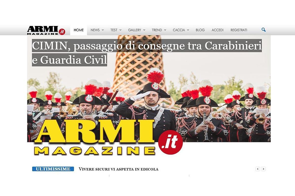 Armi Magazine lancia il nuovo sito