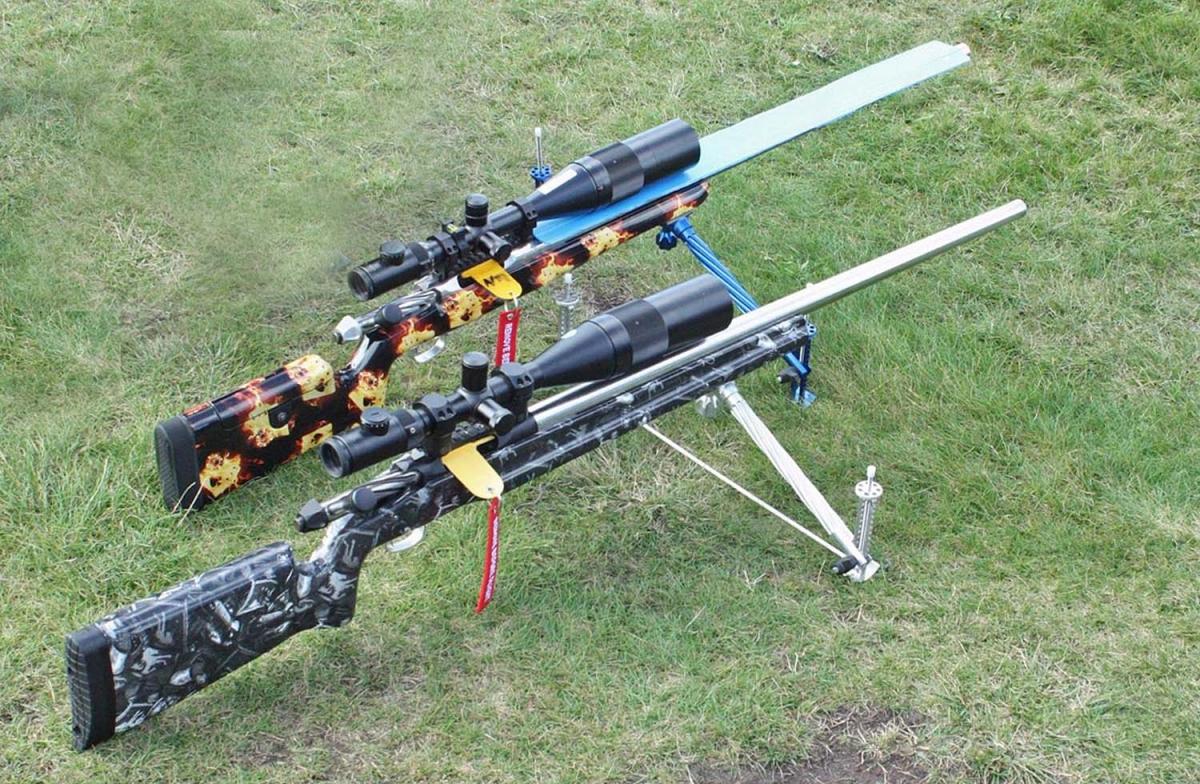Due carabine realizzate da BCM Europearms