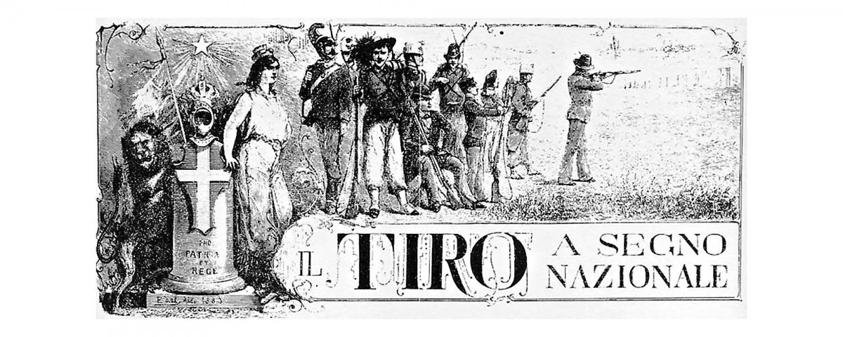 Tiro a Segno Nazionale, locandina originale del 1862