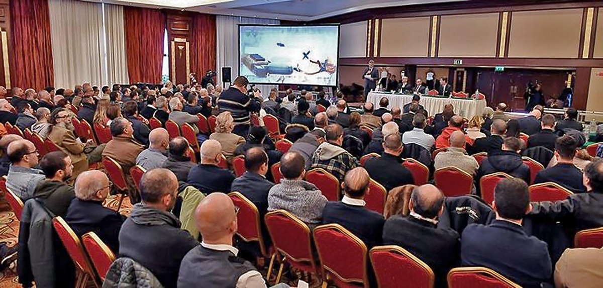 Firearms United: their latest conference was held at the Grand Hotel Excelsior in Malta