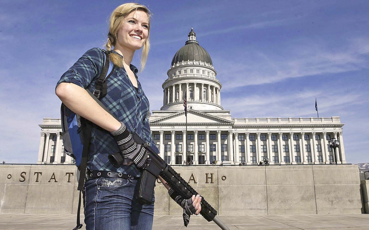 Despite what the radical left and anti-gunners state, the gun rights advocacy movement is peaceful and non-violent