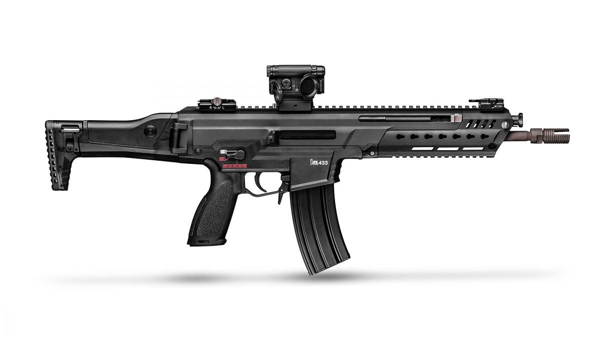 Unexpected loser: the German Armed Forces passed on on the last-gen Heckler & Koch HK433