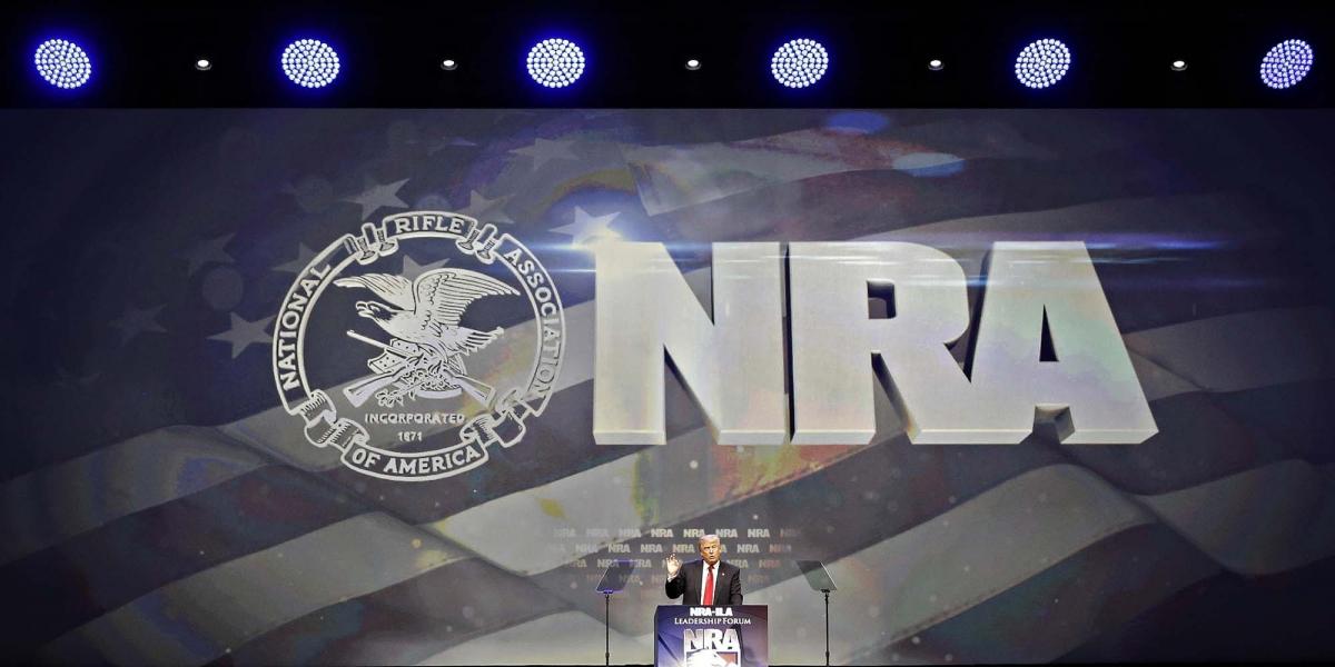 LIVE: Donald Trump speech at NRA ILA Leadership Forum 2017