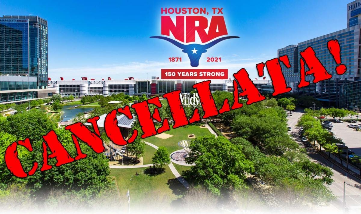 Il COVID-19 colpisce ancora: l'NRA ha cancellato il suo meeting annuale, previsto per settembre a Houston