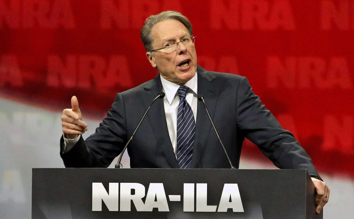 Wayne LaPierre retains his role as CEO of the NRA – a position he's been holding since 1991