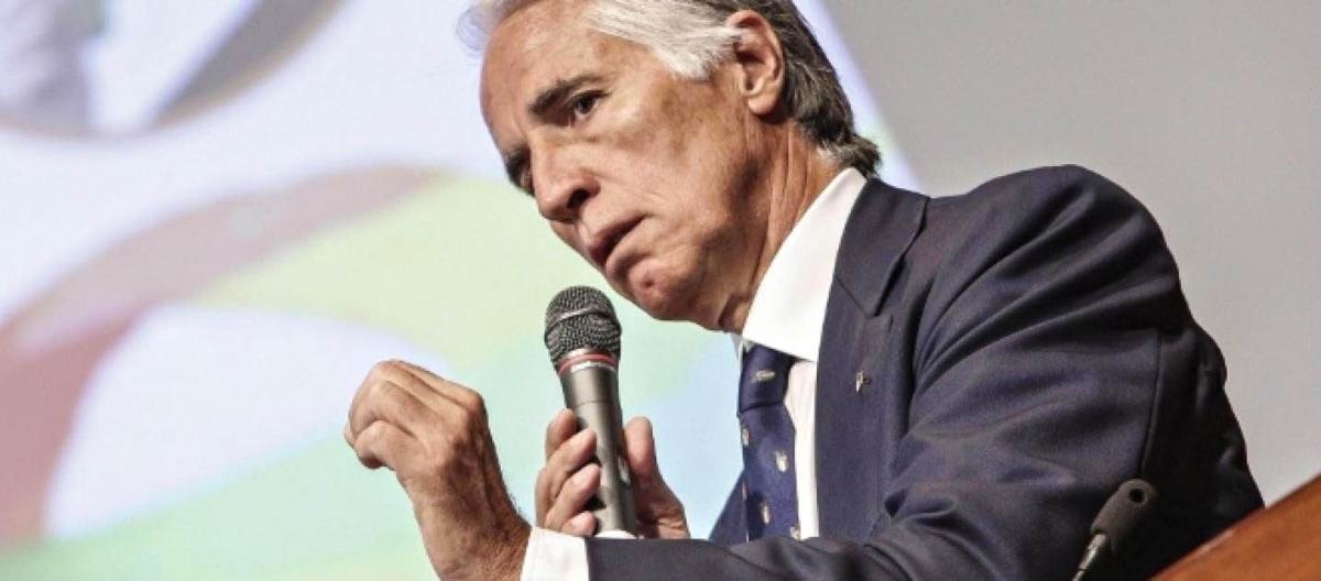 Il Presidente del CONI, Giovanni Malagò