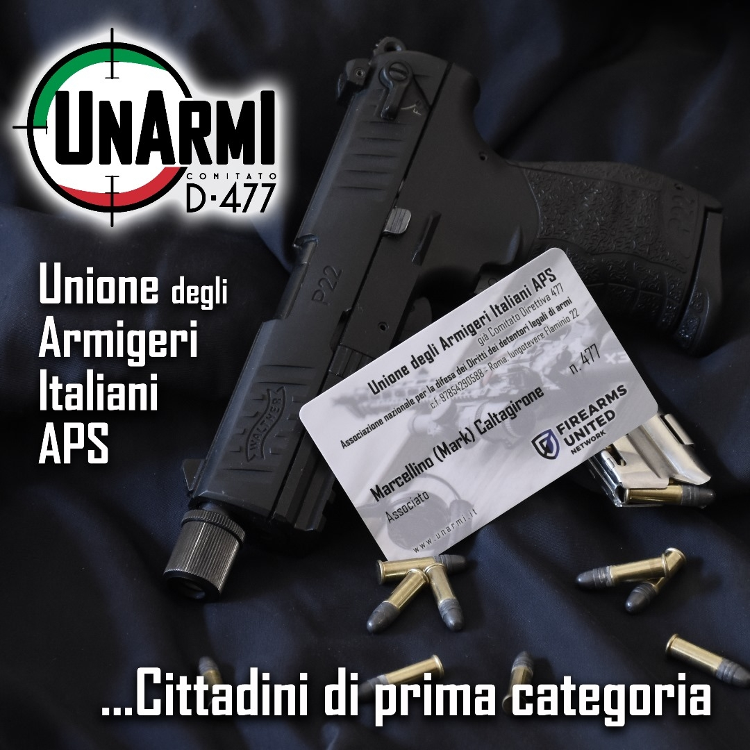 """Cittadini di prima categoria: i dati dimostrano che i legali detentori di armi, in Italia, delinquano e uccidano meno di qualsiasi altra categoria sociale. Eppure i """"soliti noti"""" del mondo antiarmi continuano a dichiarare il falso, affermando che """"le armi legali uccidono più della mafia"""" e non perdono occasione per sfruttare tragedie come quella di Ardea – che ha visto l'uso di un'arma detenuta illegalmente – per richiedere a gran voce limitazioni ai loro diritti!"""