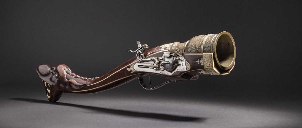 A significant de luxe grenade gun, South German, circa 1610/20