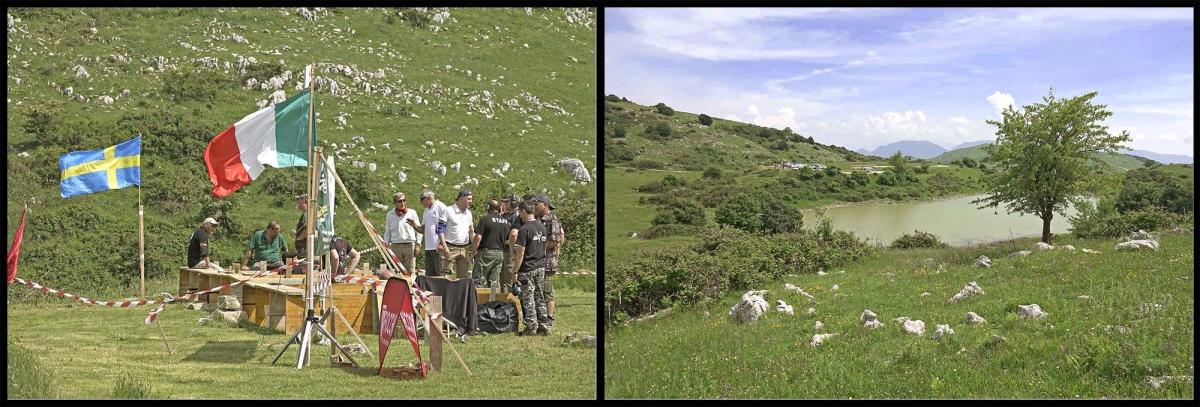 Il campo di tiro del Samnium Shooting Club si trova all'interno dei meravigliosi paesaggi che circondano Cerreto Sannita