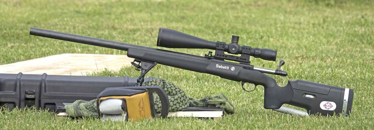 A disposizione dei tiratori due carabine Sabatti Tactical Syn in calibro .308 Winchester
