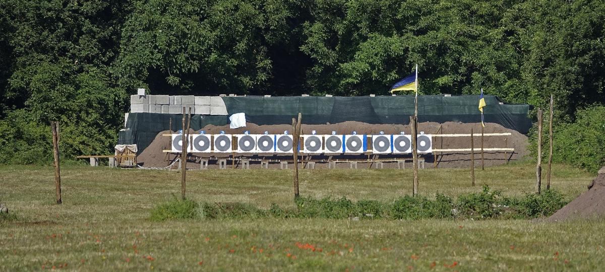 Le linee a 600 yards (540m)