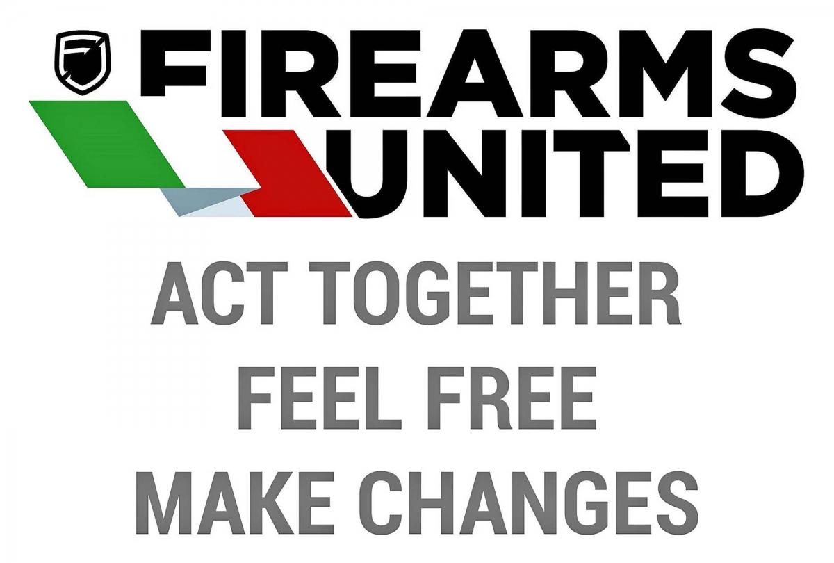 Attualmente Firearms United si propone come l'unica associazione che abbia come obiettivo la tutela dei diritti dei possessori d'armi a livello internazionale