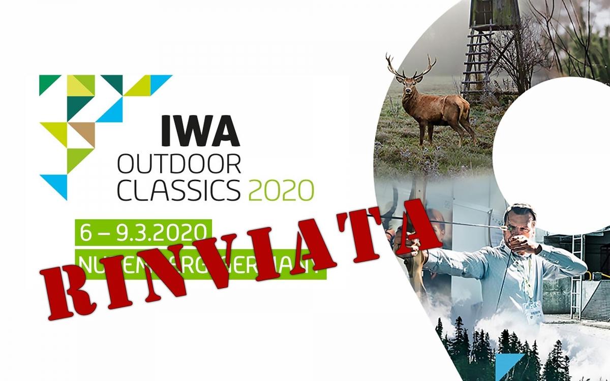 IWA 2020 cancellata e rinviata