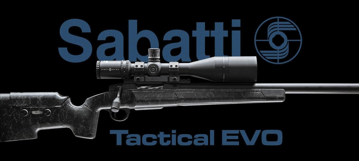 Il trofeo sarà l'occasione giusta per provare la nuova carabina Sabatti Tactical EVO