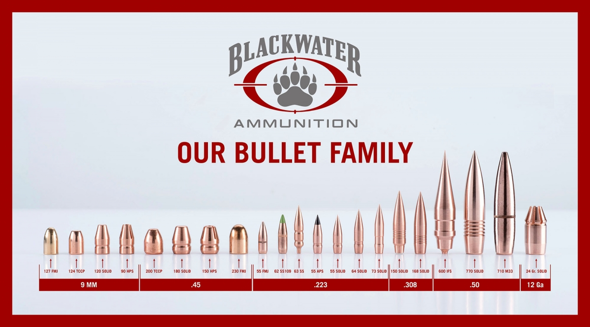 BLACKWATER AMMUNITION lancia il suo marchio ufficiale a IWA 2018