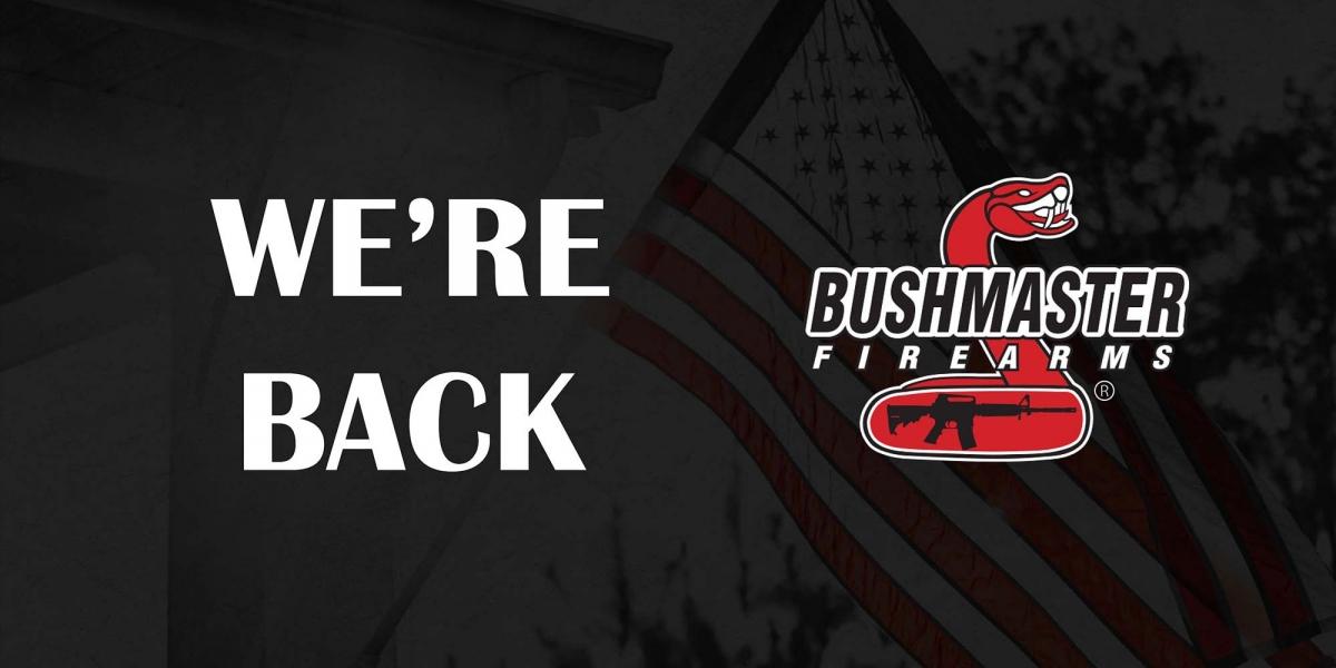 Dopo una lunga attesa durata due anni, Bushmaster Firearms ritorna sul mercato!