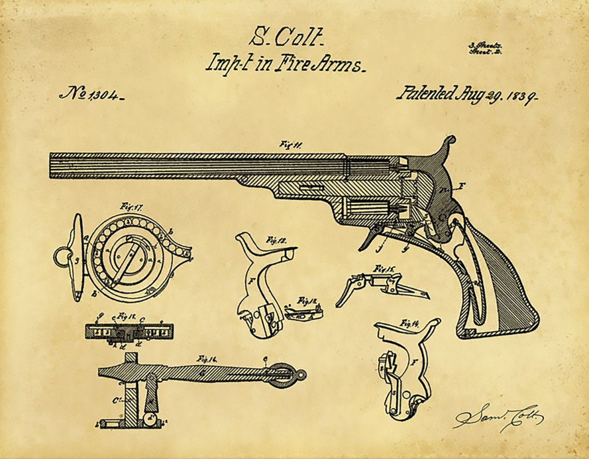 Everything started with the Colt Paterson model of 1836