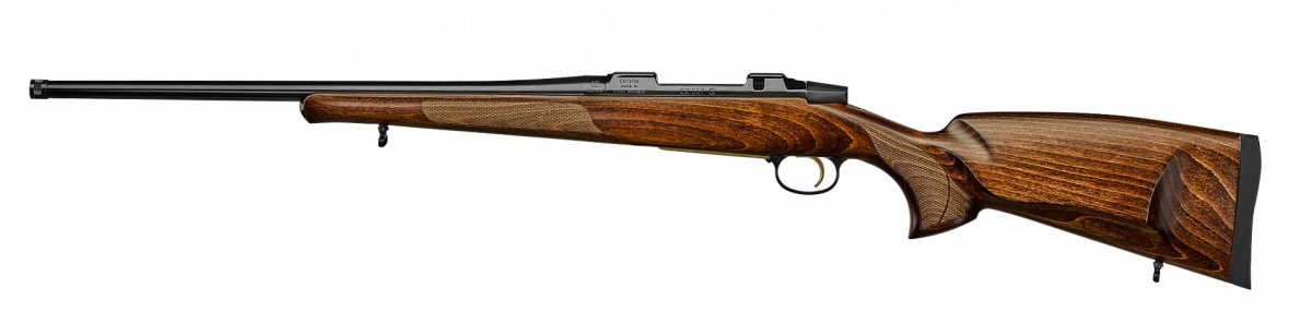 CZ-577 85th Anniversary Edition bolt-action rifle – left side