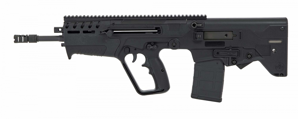 Il lato destro del nuovo fucile bull-pup IWI Tavor 7