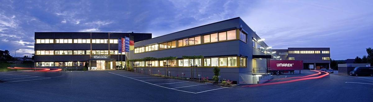 Il quartier generale UMAREX ad Arnsberg, in Germania