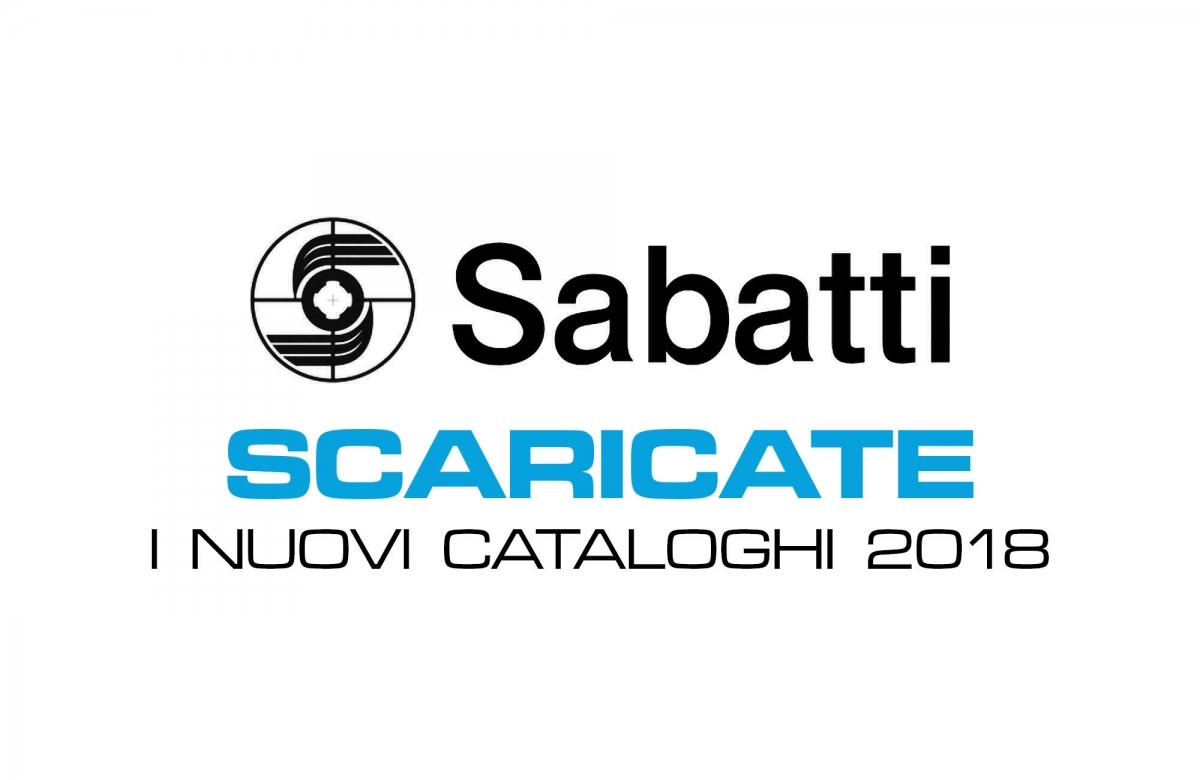Cataloghi Sabatti 2018
