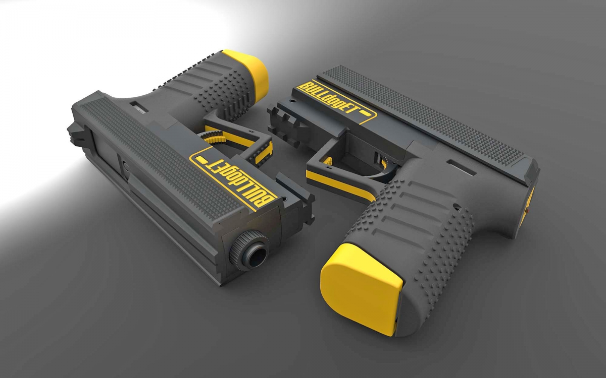 'BulldogET' is the name of Tecnostudio's latest compact striker-fired pistol design
