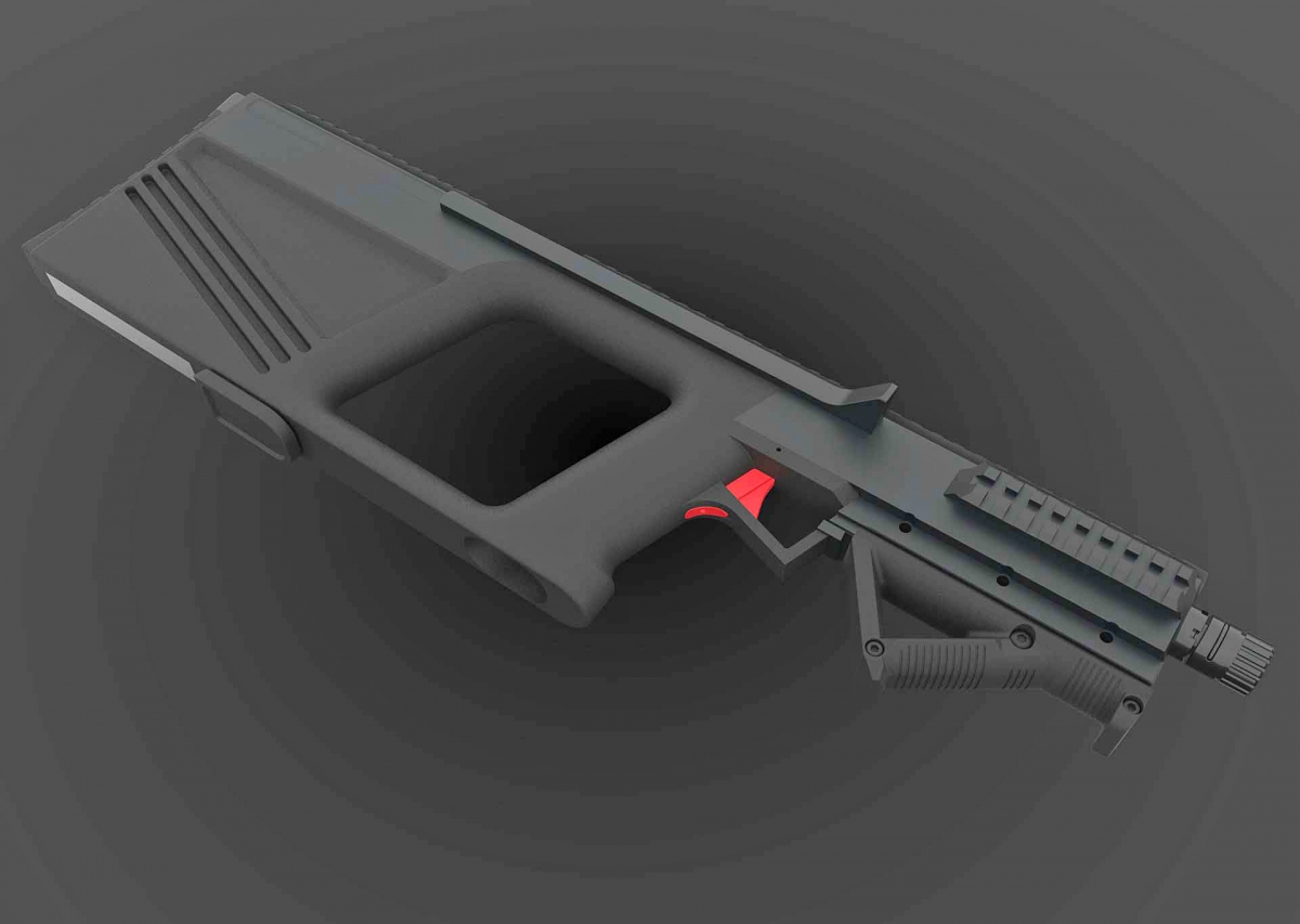 'Tecnogun': quite a proper name for the latest bullpup design from Tecnostudio Engineering