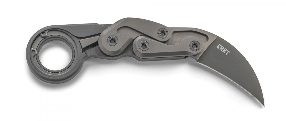 "The CRKT Provoke is defined as a ""Kinematic Morphing Karambit Knife"""
