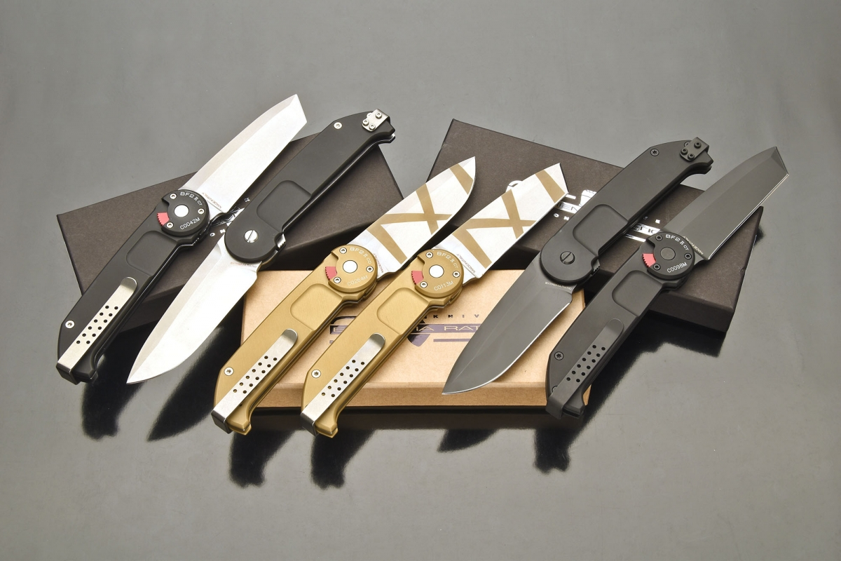 The Extrema Ratio BF2 R knife is available in six different versions
