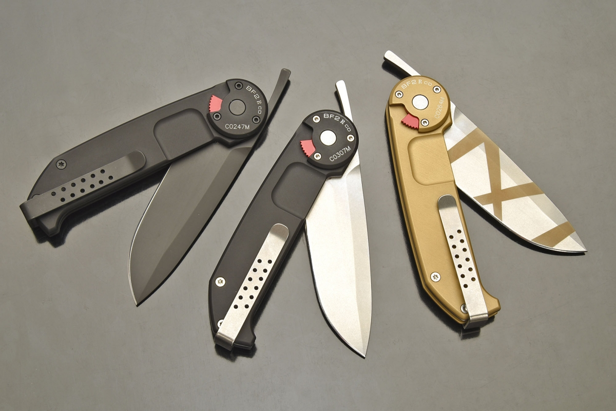 Extrema Ratio BF2 R: the folding knife that opens like a straight razor!