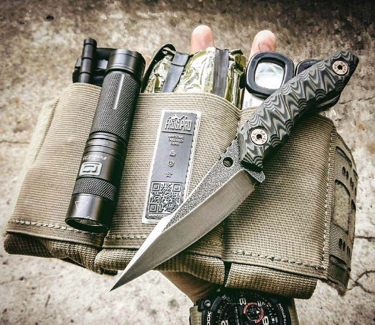 A GUNSweek.com global exclusive: a sneak peek on the prototype Wander Tactical Barracuda fighting knife!