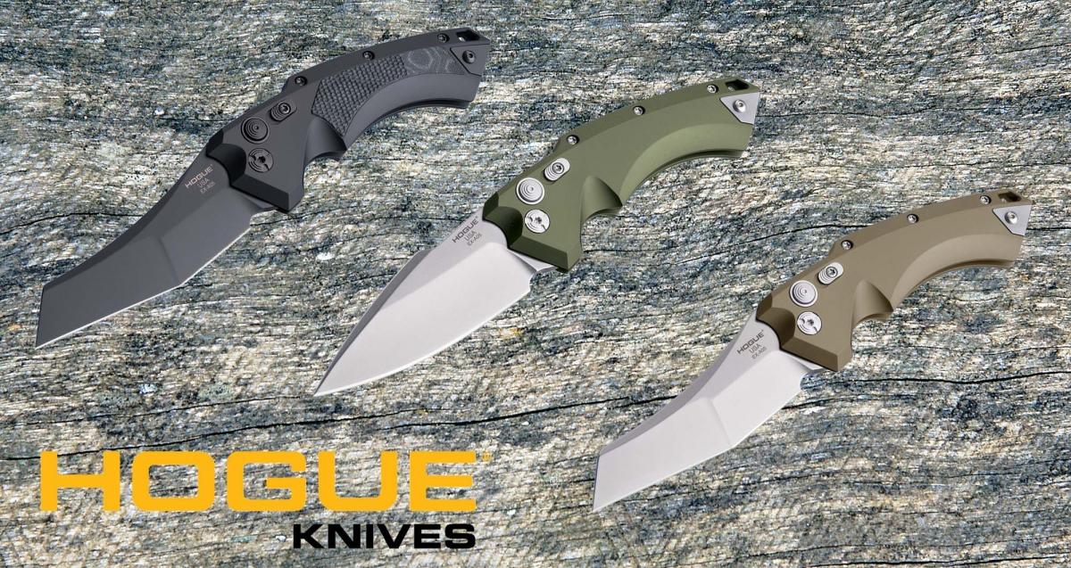 Hogue Knives lancia la nuova linea di coltelli automatici EX-A05