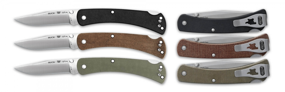 The new Buck Slim Pro series, available for both 110 and 112 variants